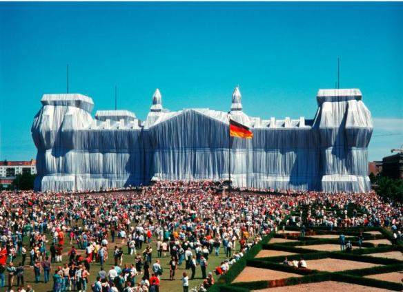 Wrapped Reichstag C Christo
